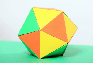 Icosahedron Bauble STEM toys with Konnie Huq