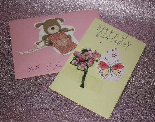 Cards from Olivia Hallmark Family Clan Blog