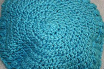 Crochet hats & a bag Family Clan