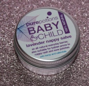Pure Potions Baby & Child Baby Oil & Nappy Salve