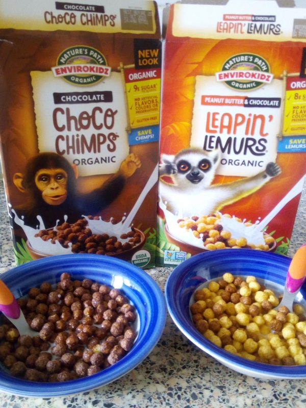 EnviroKidz organic breakfast cereal Review Family Clan Nature Path Organic Envirokidz