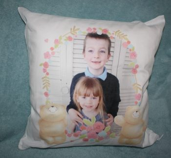 Funky Pigeon Mother's Day Cushion Family Clan