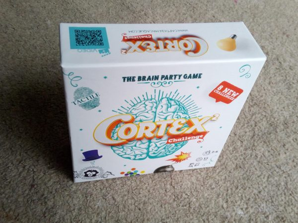 Cortex Challenge 2 the brain party game review by Family Clan