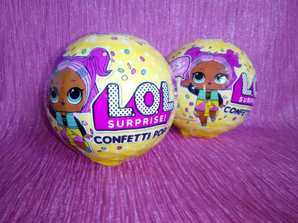 L.O.L. Surprise! Confetti Pop review by Family Clan