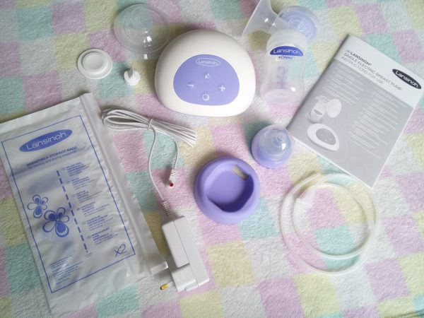 Lansinoh Electric Single Breast Pump Breast Feeding review by Family Clan