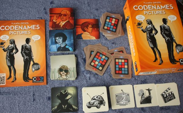 Codenames Pictures Game Review Family Clan