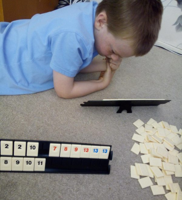 Rummikub game review by Family Clan 2