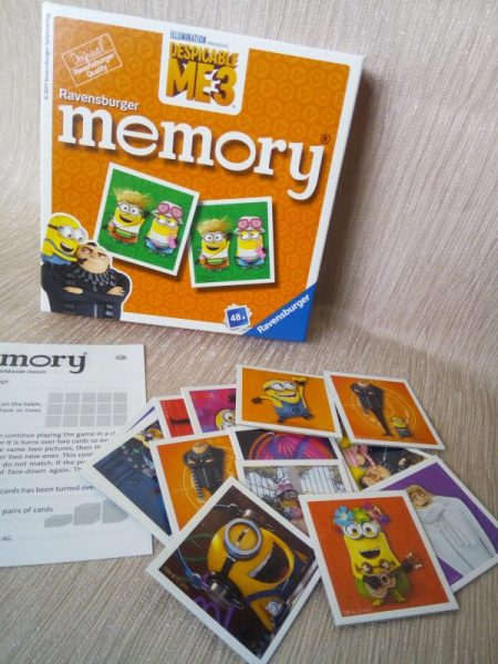 Ravensburger Despicable Me 3 Memory Game review by Family Clan