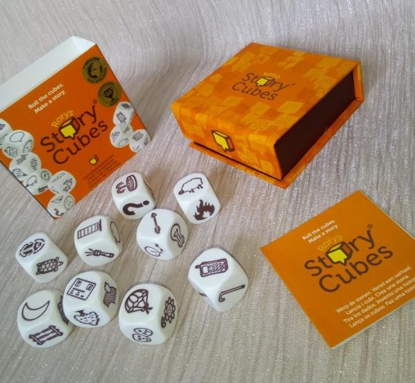 Rory's Story Cubes review by Family Clan