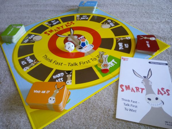 Smart Ass by University Game Review by Family Clan
