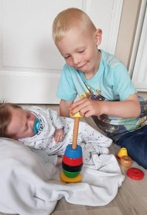 BRIO Colourful Stacking Clown review by Family Clan
