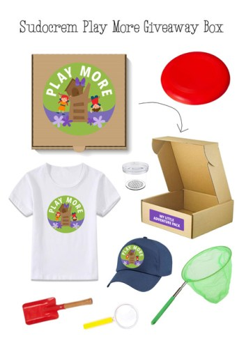 Play More Give away Box