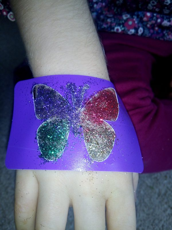 FabLab Glitter Tattoo Fun Review by Family Clan