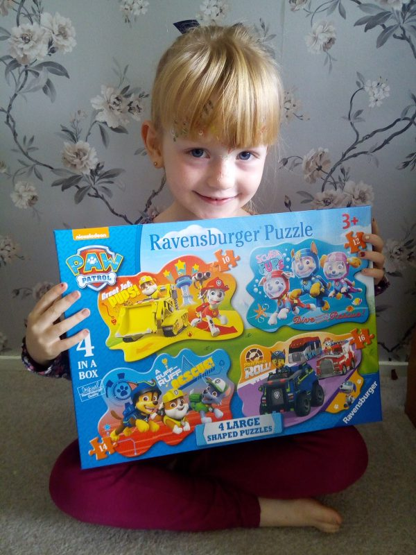 Ravensburger 4 Large Shaped Puzzles review by Family Clan