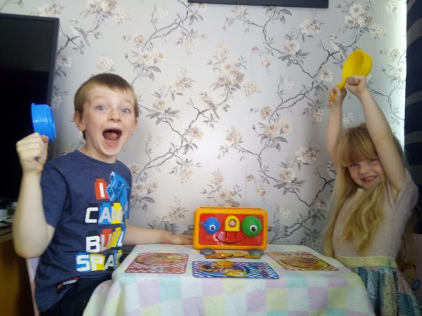 Little Tikes Family Games Night Crazy Toaster Review by Family Clan 6
