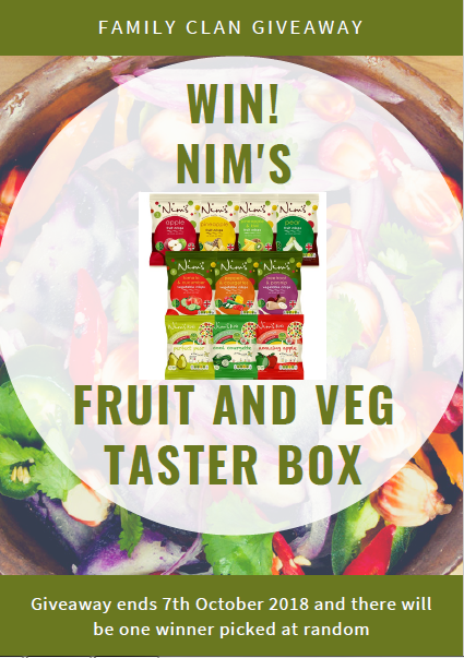 Nim's Fruit & Veg Taster box giveaway