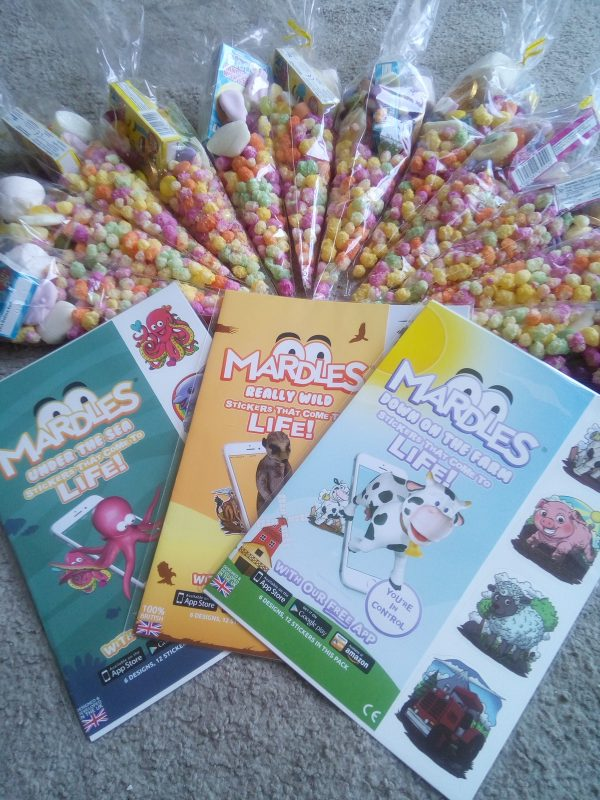 Mardles party bag supplies review by Family Clan