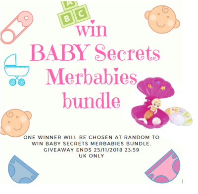 Merbabies giveaway poster Family Clan