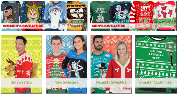 Ugly Christmas Jumpers Sweaters