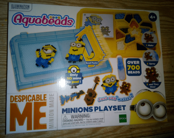 Despicable Me Minions Aquabeads Playset