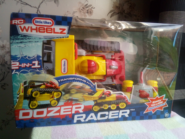 Little Tikes Dozer Racer review by Family Clan