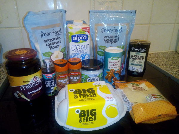 ALESHA DIXON AND THE GROOVY FOOD COMPANY Jamaican Gingerbread Cake review by Family Clan