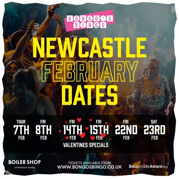 Newcastle Bongo's Bingo