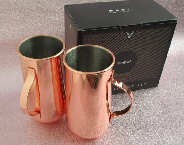 Vonshef Copper Mugs and Cookie Cutters Review Family Clan