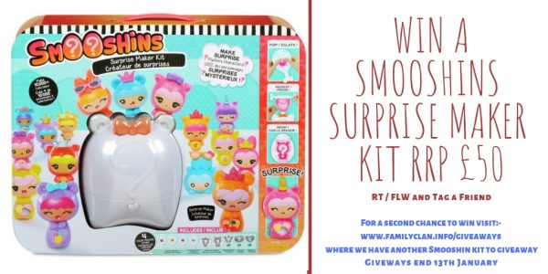 Win Smooshins Surprise Maker Kit Giveaway by Family Clan