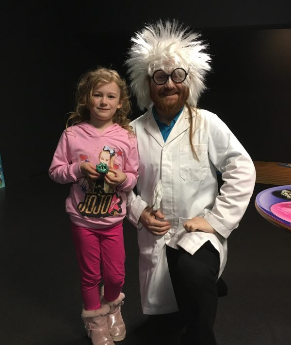 Blackpool Sea Life Centre Feb 2019 Family Clan PlayDoh Professor Finn & Olivia