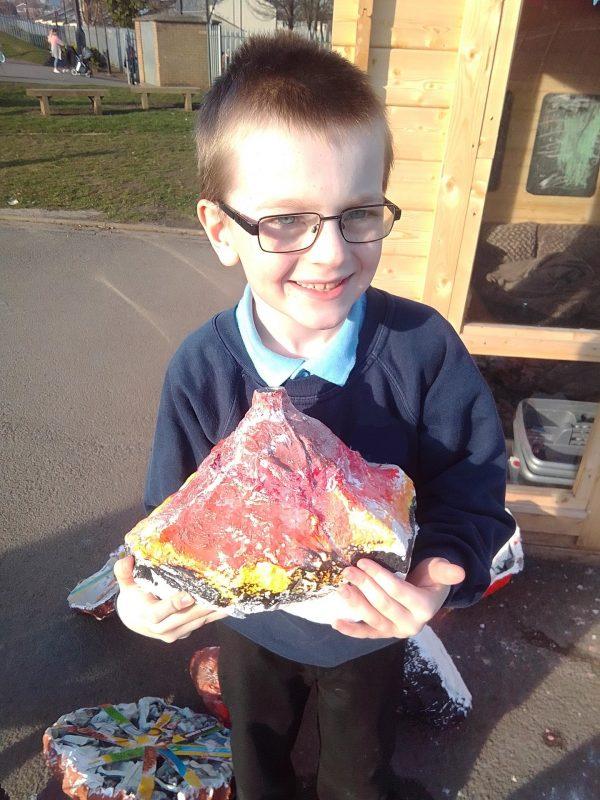 Jake's Volcano Experiment