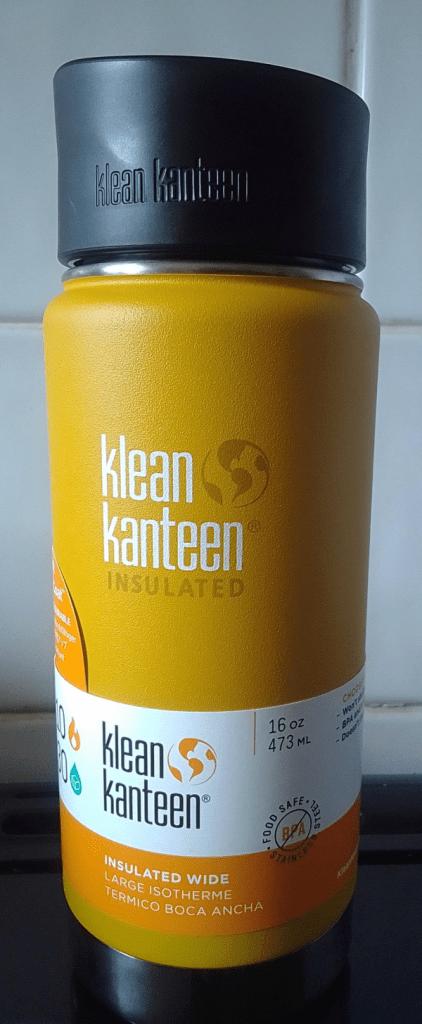 Klean Kanteen 16oz thermal flask 2