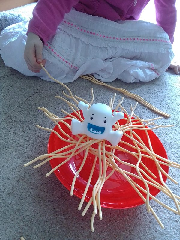 Yeti in my Spaghetti review by Family Clan