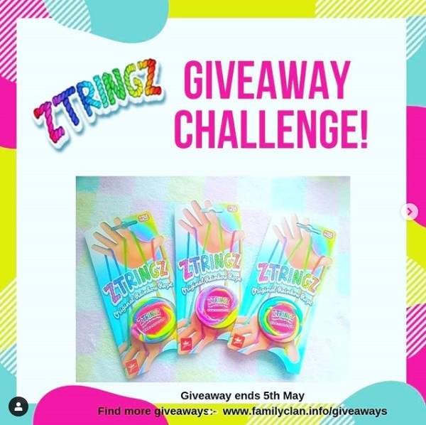 ZTRINGZ Giveaway Challenge Poster Family Clan