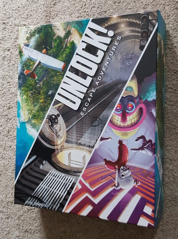 Unlock! Escape Adventures review by Family Clan 4
