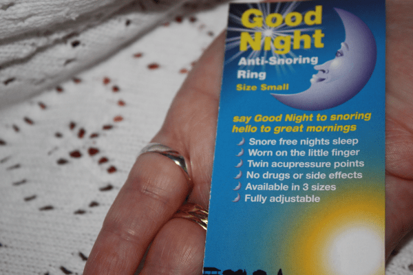 Good Night Anti Snoring Rings review by Family Clan