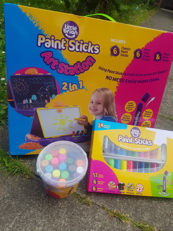 Little Brian Paint Sticks Art Station Review Family Clan