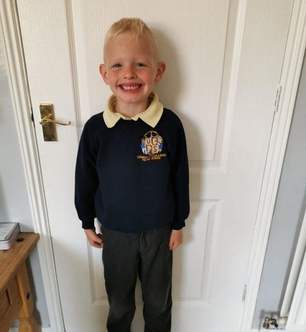 Logan last Day of School July 2019