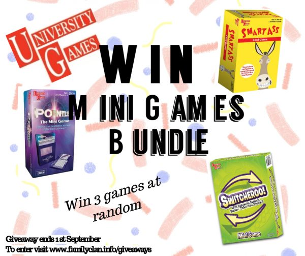 Win a University Games Bundles Family Clan