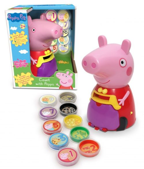 Count with Peppa Pig Toy Family Clan