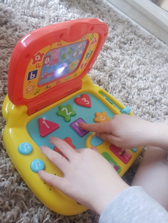 Peppa Pig Electronic Learning Toys review by Family Clan
