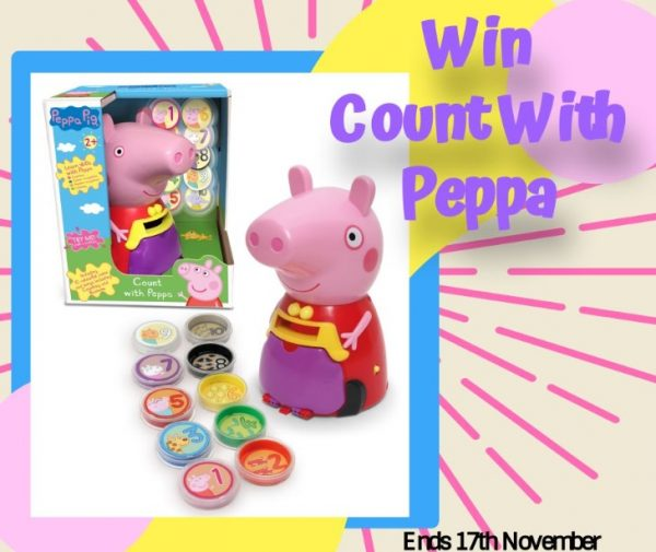 Win Count With Peppa Pig Giveaway Family Clan