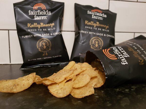 Fairfields Farm Turkey with sage & onion crisps review by Family Clan