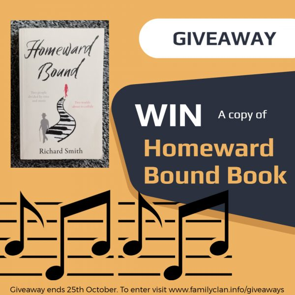 Homeward Bound Book Giveaway By Family Clan - Made with DesignCap