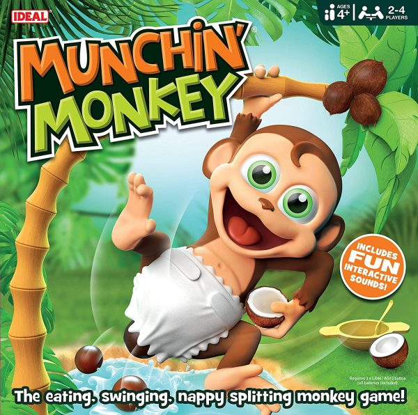 Munchin Monkey review by Family Clan