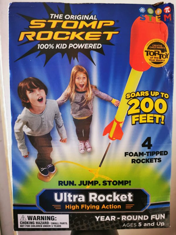 Stomp Rocket Review by Family Clan