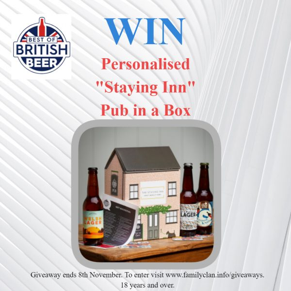 Best of British Beer Staying Inn Giveaway - Made with DesignCap