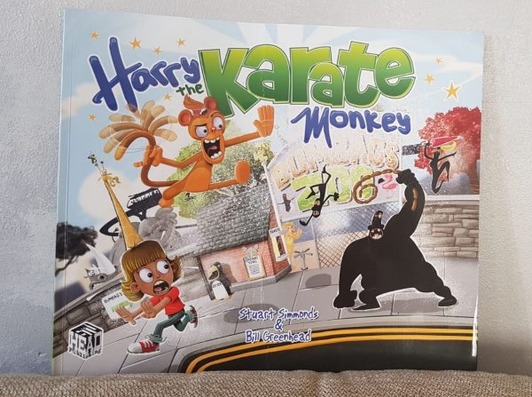 Harry the Karate Monkey Book Review Family Clan