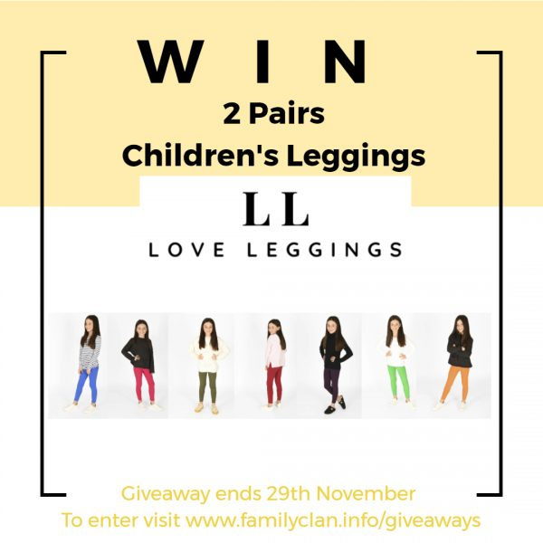 Win Love Leggings Giveaway Family Clan