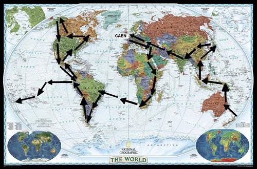 jeremy tour du monde auto-stop